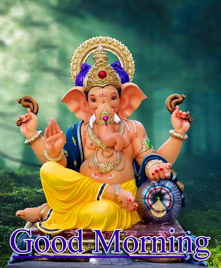 Latest Updated Good Morning Ganpati Bappa Pics Free Download
