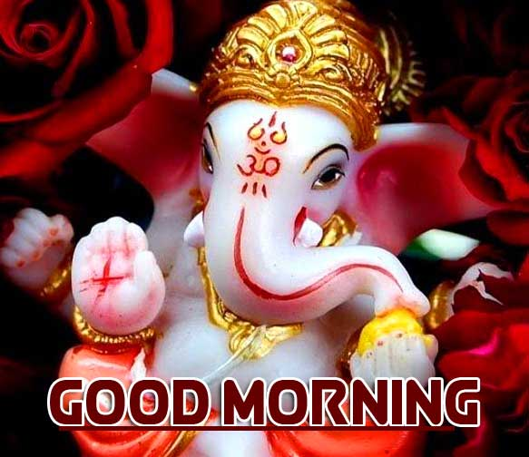 Best Quality Free Latest Updated Good Morning Ganpati Bappa Pics Download