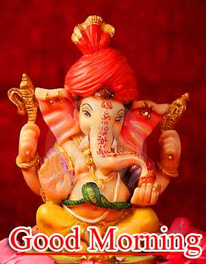 Latest Updated Good Morning Ganpati Bappa Pics Latest Download Fre
