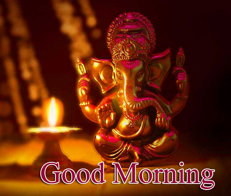 Latest Updated Good Morning Ganpati Bappa Pics Wallpaper Free