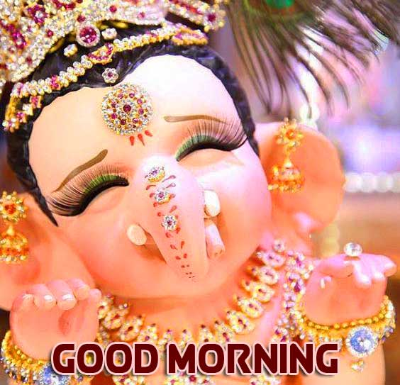 Latest Updated Good Morning Ganpati Bappa Pics Free Download Latest