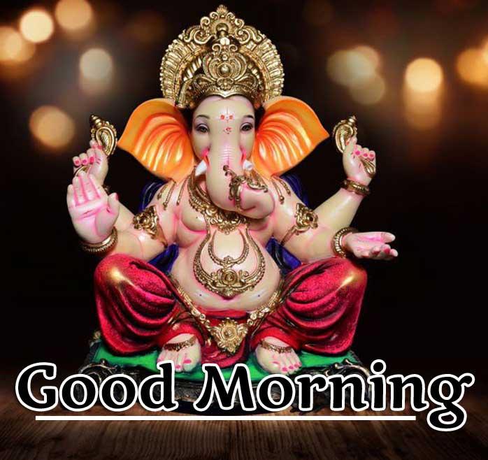 Good Morning Ganpati Bappa / Ganesha Pics Wallpaper Download
