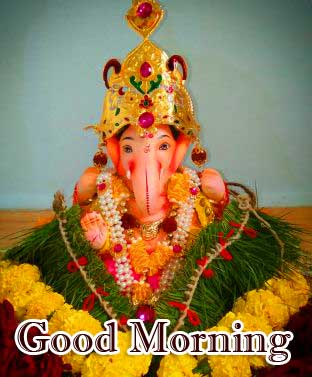 Good Morning Ganpati Bappa Pics Free