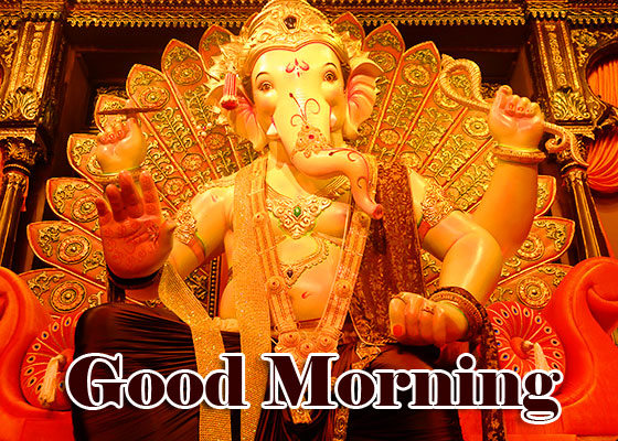 Good Morning Ganpati Bappa / Ganesha Pics Download