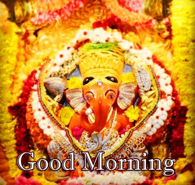 Good Morning Ganpati Bappa Pics Free Latest