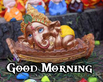Good Morning Ganpati Bappa / Ganesha Wallpaper Latest Download