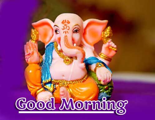 Good Morning Ganpati Bappa / Ganesha Pics Free Download