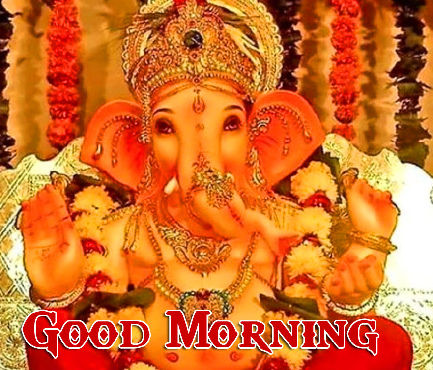 Lord Ganesha Good Morning Images Download