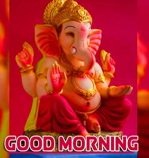 Lord Ganesha Good Morning Wallpaper Pics Free Download