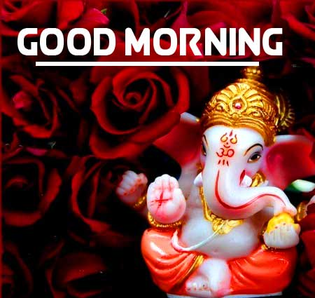 New Free Lord Ganesha Good Morning Pics Images Download
