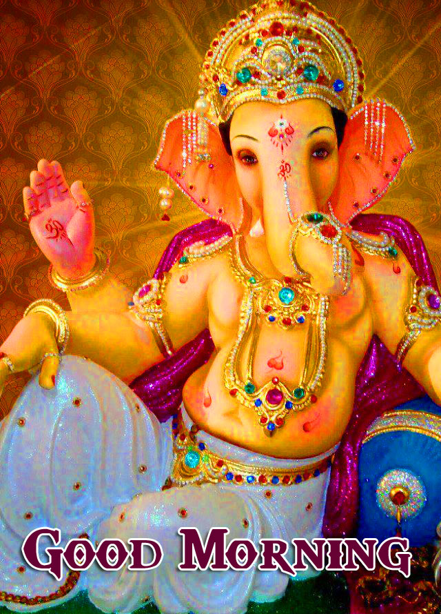 Lord Ganesha Good Morning Wallpaper Latest Download