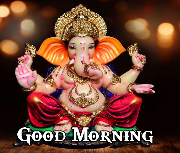 Lord Ganesha Good Morning Pics Wallpaper Download