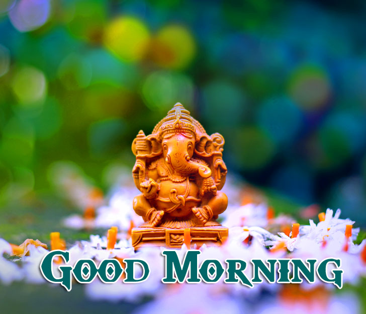 Lord Ganesha Good Morning Pics Wallpaper Free
