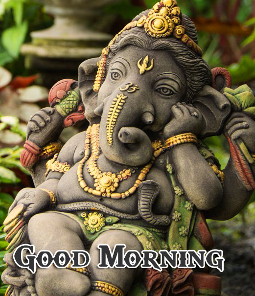 Lord Ganesha Good Morning Wallpaper Free