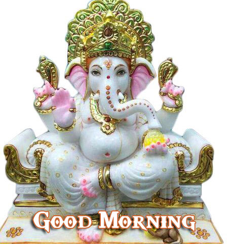 Lord Ganesha Good Morning Pic Download New