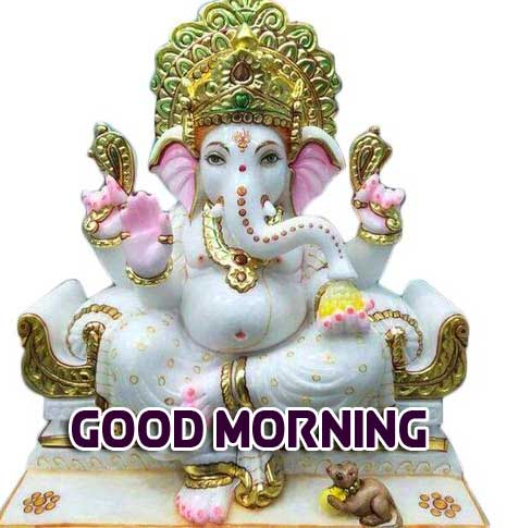 Lord Ganesha Good Morning Pics Wallpaper Latest Download