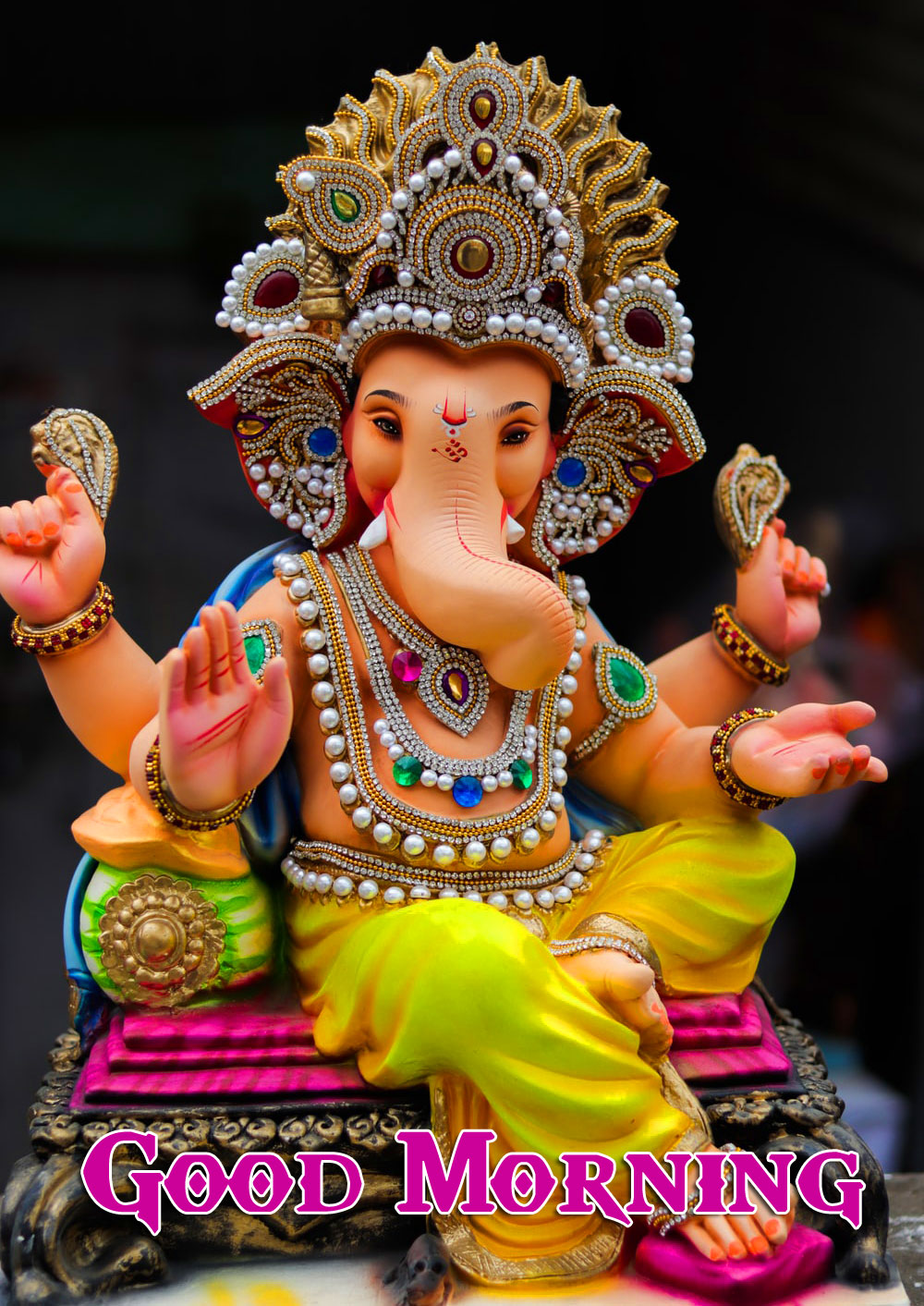 Lord Ganesha Good Morning Pics Free Download