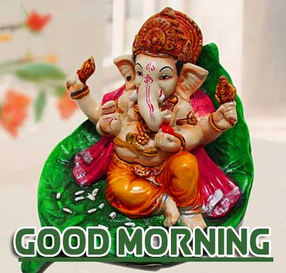 Lord Ganesha Good Morning Pics Photo Download Free