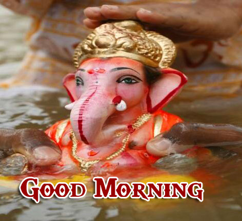 Lord Ganesha Good Morning Pics Download Free