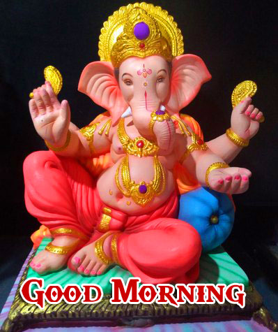 Lord Ganesha Good Morning Pics Free HD New