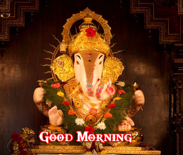 Lord Ganesha Good Morning Photo Download Free