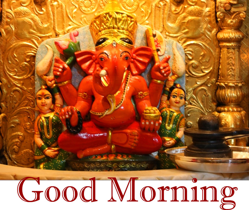 Lord Ganesha Good Morning Wallpaper New Download