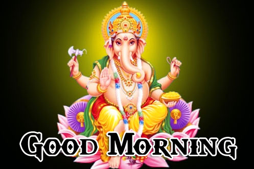 Lord Ganesha Good Morning Pics Wallpaper Free Download