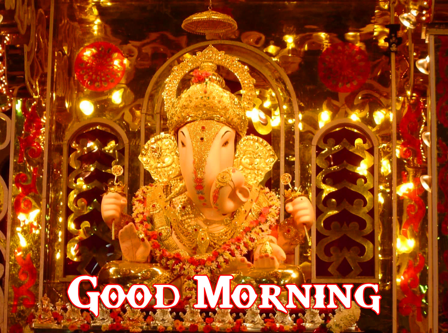 Lord Ganesha Good Morning Pics Download new