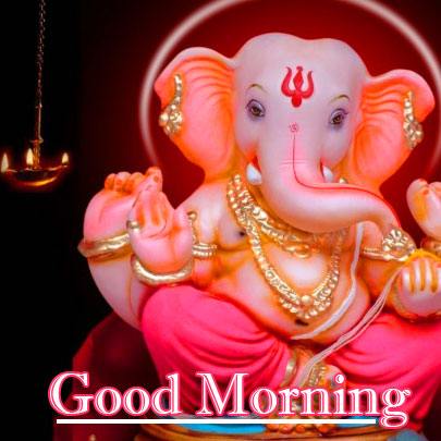 Lord Ganesha Good Morning Wallpaper Latest Free