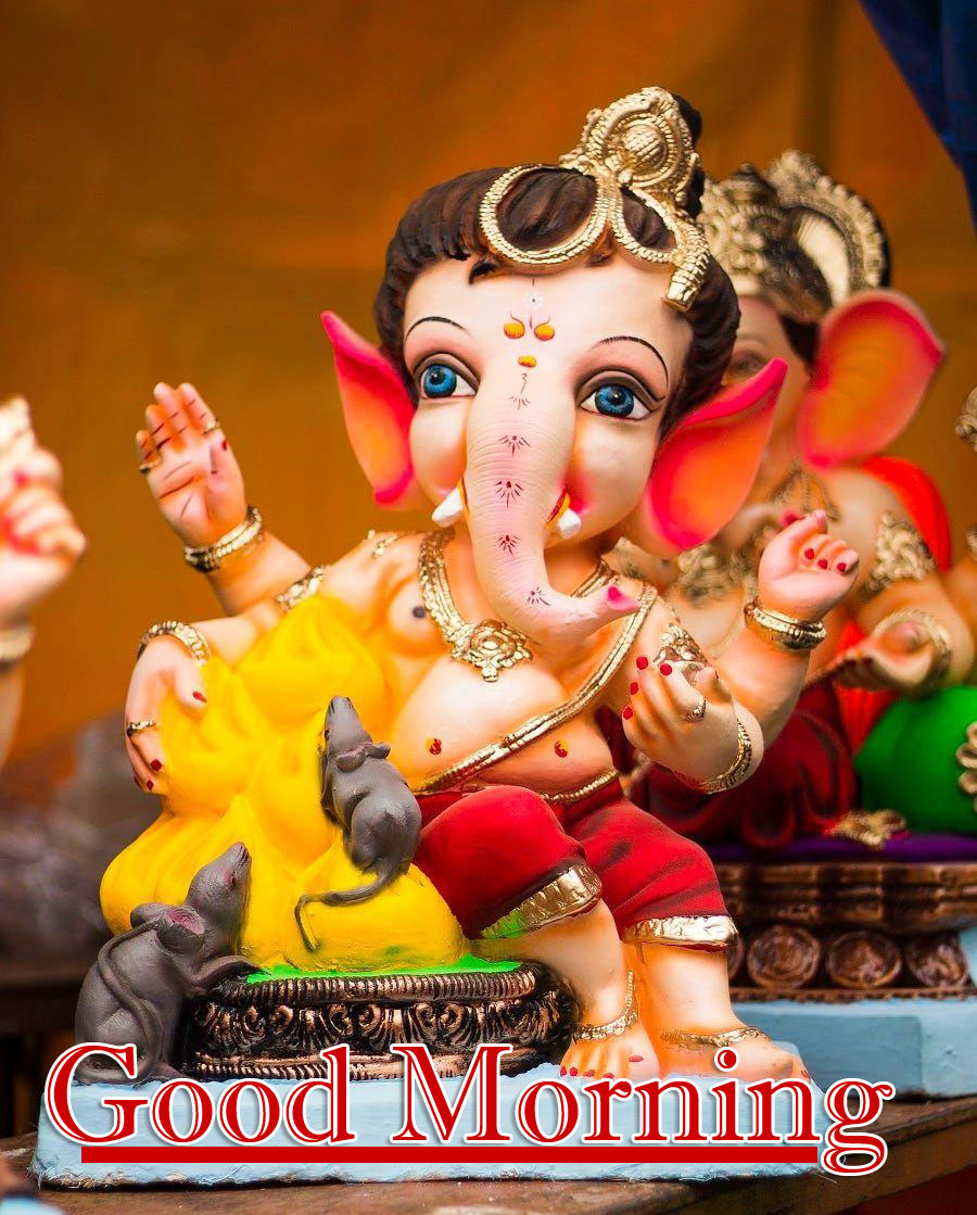 Lord Ganesha Good Morning Pictures for Facebook
