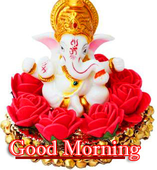 Lord Ganesha Good Morning Wallpaper HD Download Free