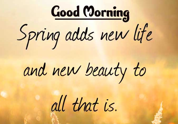 English Thought Good Morning Images