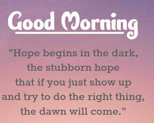 English Thought Good Morning Images Wallpaper for Facebook