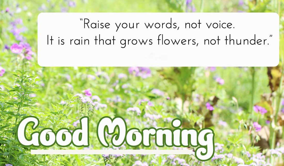 New Best English Thought Good Morning Images Pics Download