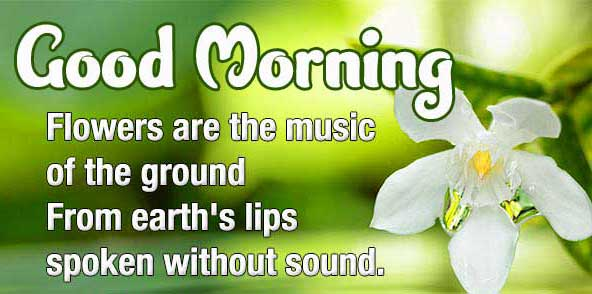 Awesome English Thought Good Morning Images Pics Download