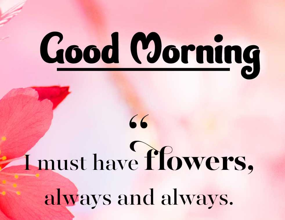 Good Morning Images with English Thought
