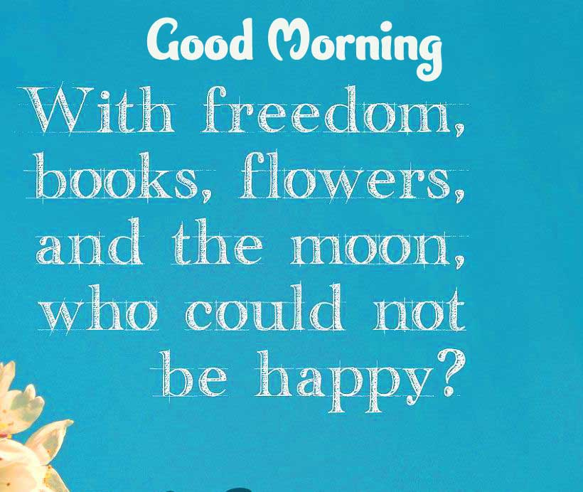 Good Morning Images with English Thought Wallpaper New Download
