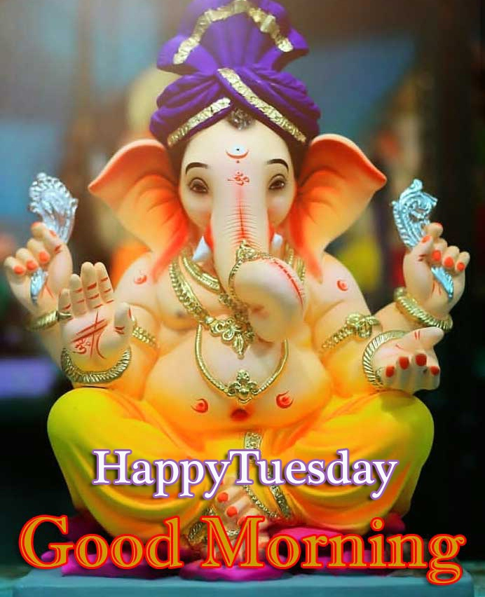 Ganesha Good Morning Tuesday Hauman JI Images Pics Dow load
