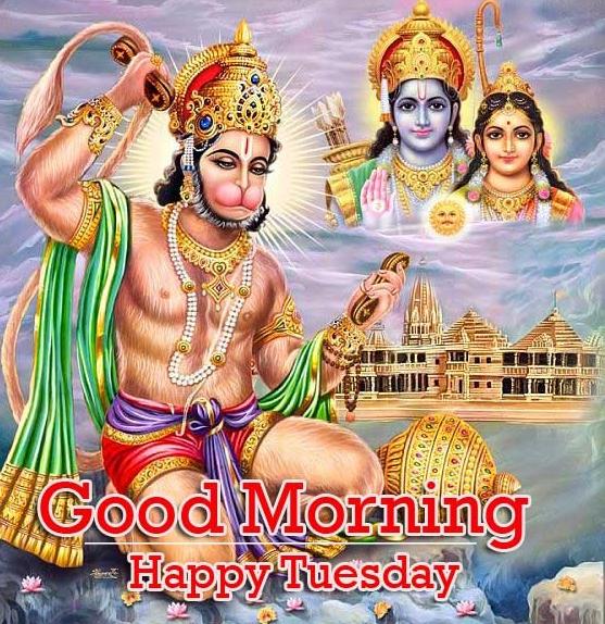 Good Morning Tuesday Hauman JI Images Pics Wallpaper Free