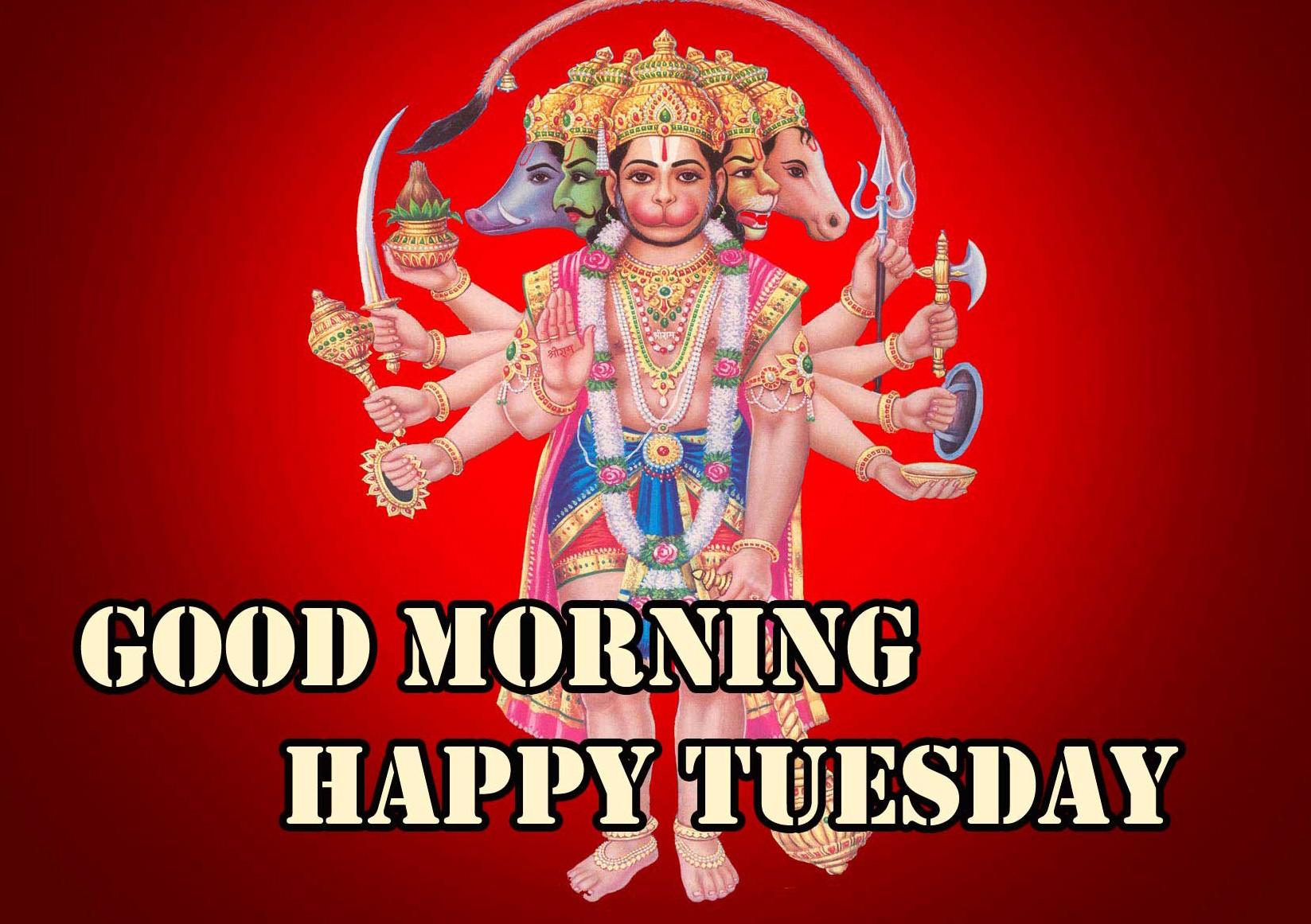 Good Morning Tuesday Hauman JI Images Pics Download Latest