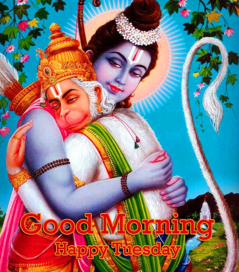 Good Morning Tuesday Hauman JI Images Pics Free Download