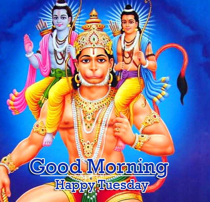 Good Morning Tuesday Hauman JI Images With Sri Ram