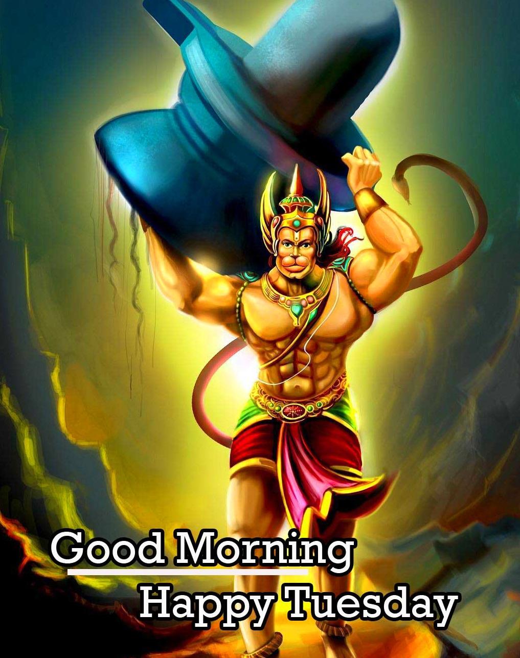 Good Morning Tuesday Hauman JI Images Pics for Status