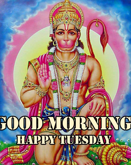 Good Morning Tuesday Hauman JI Images Wallpaper free Download