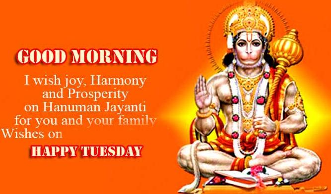 Top New Good Morning Tuesday Hauman JI Images Pics Download