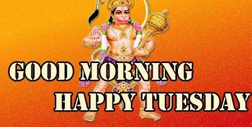 New Best Good Morning Tuesday Hauman JI Images Pics Download Free