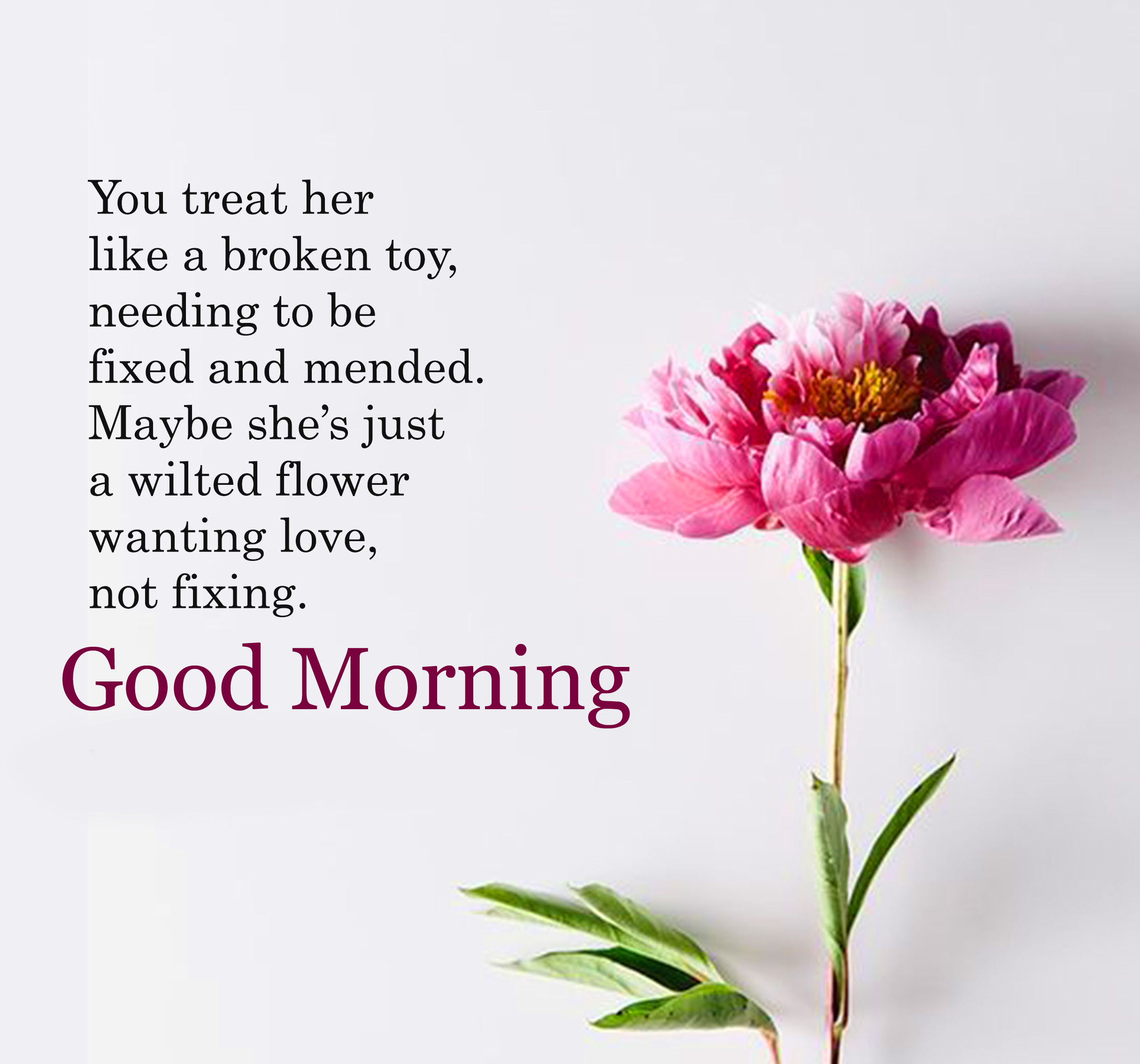 Good Morning Wallpaper With Quotes