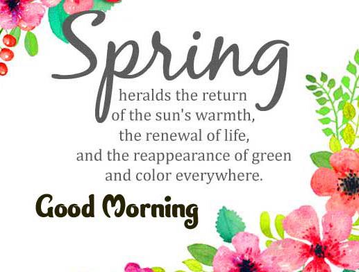 Good Morning Wishes Images with positive thoughts Pics New Download
