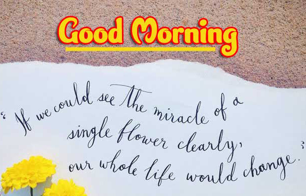 New Font Good Morning Wishes Images with positive thoughts Images Download