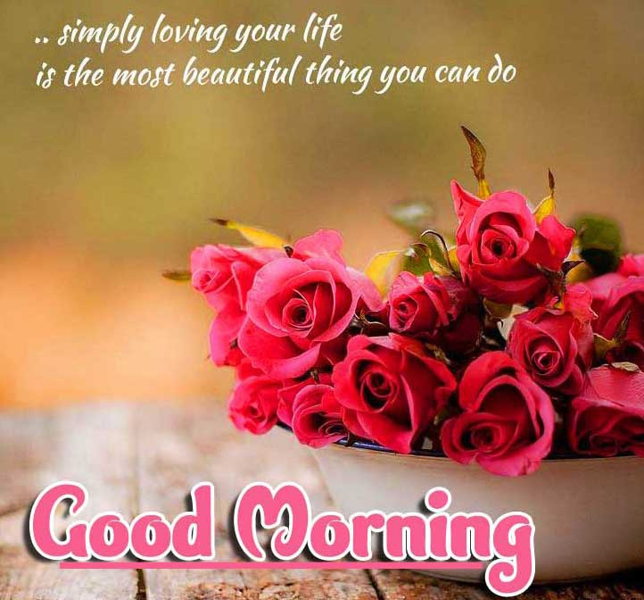 Beautiful Free Good Morning positive thoughts Wallpaper